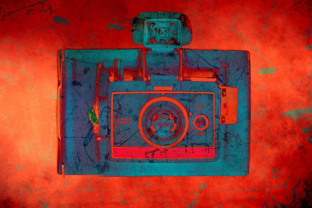 VIntage Polaroid Camera 6