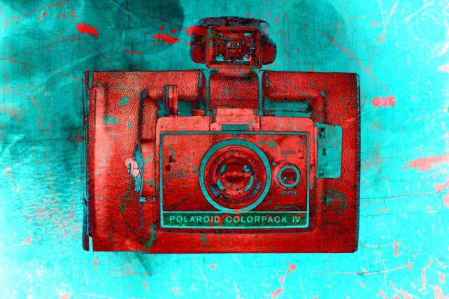 Vintage Polaroid Camera 12