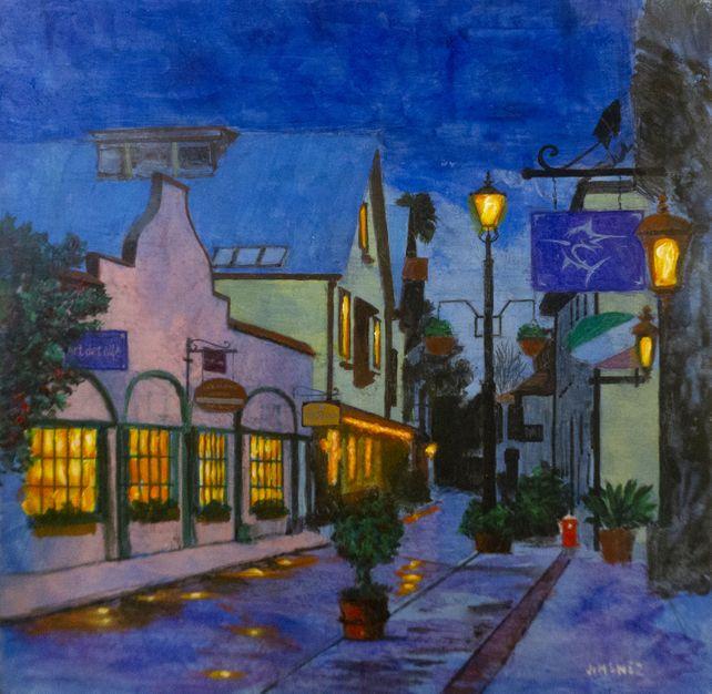 Evening on St. Augustine
