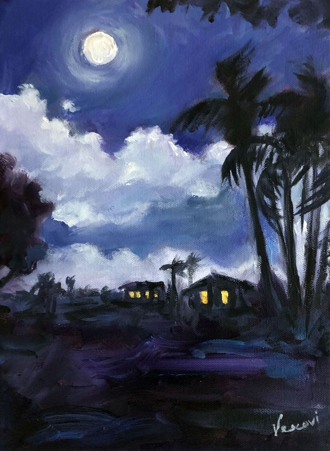 Moonlight Silhouettes