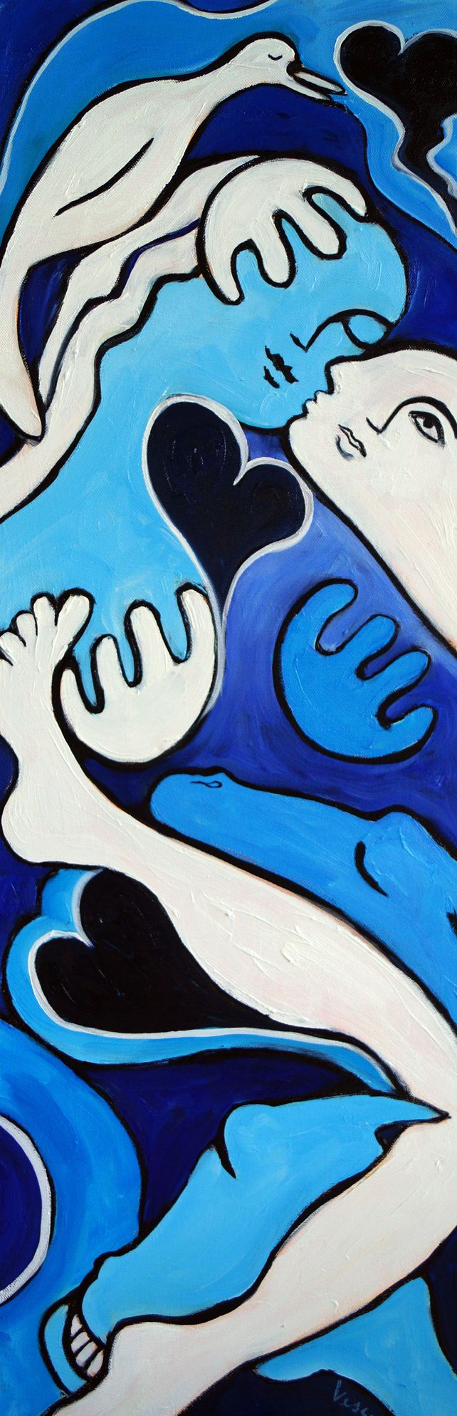 Bleu Guys, Indigo Hearts