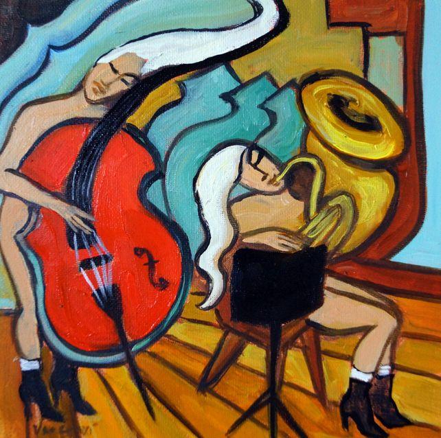 Red Cello, Tuba