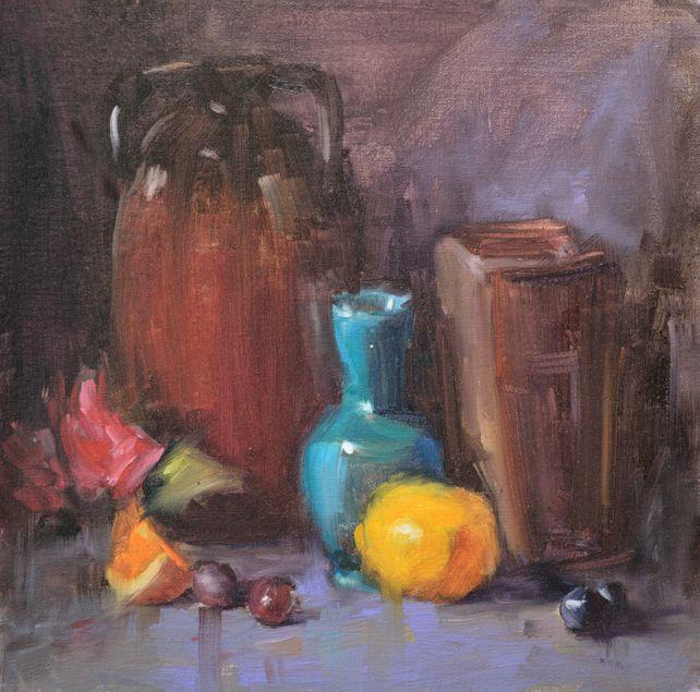 Blue-Green Vase