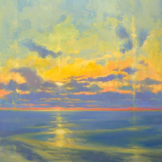 Dissolving Sunset