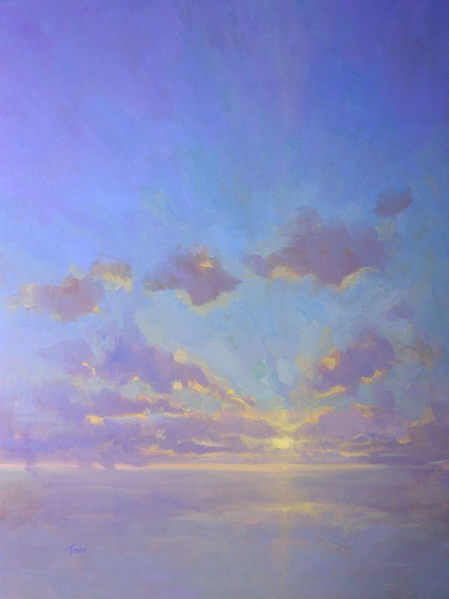 Cloudscape in Purples