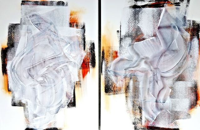 Good Vibrations Diptych