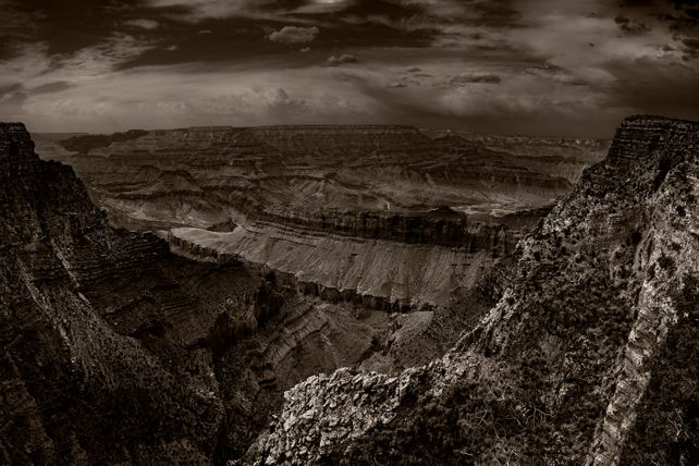 Grand Canyon 111 B&W