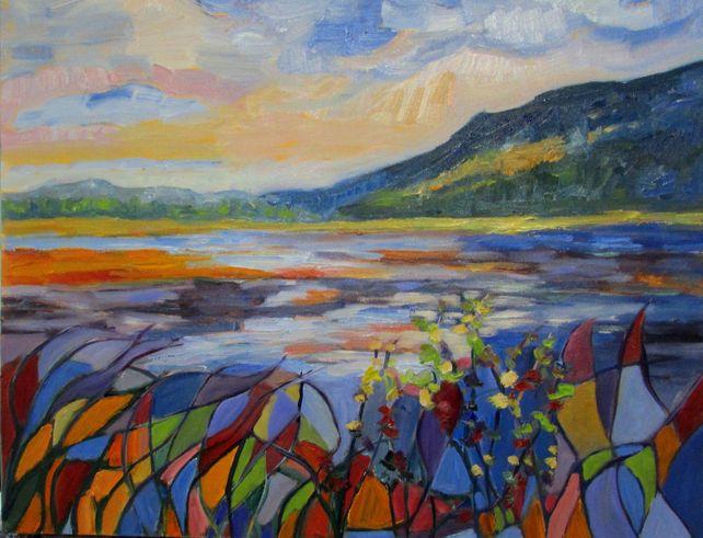 Estuary Mosaic #3