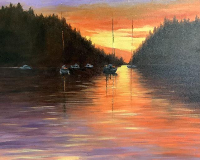 Galiano Sunset