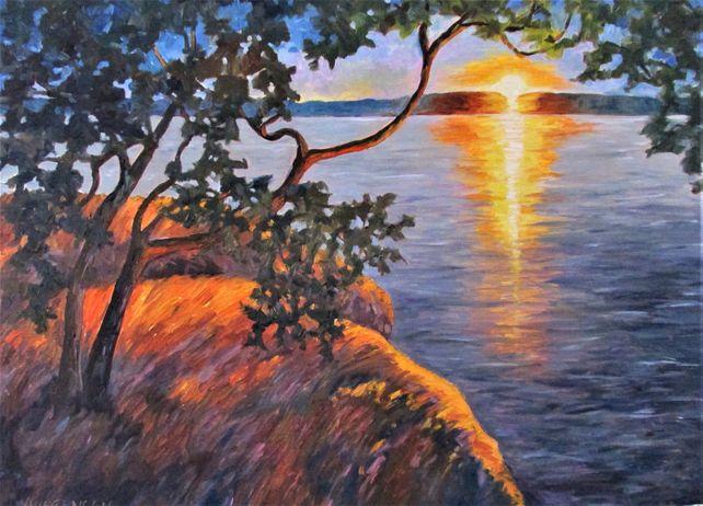 Gulf Island Sunset No. 2