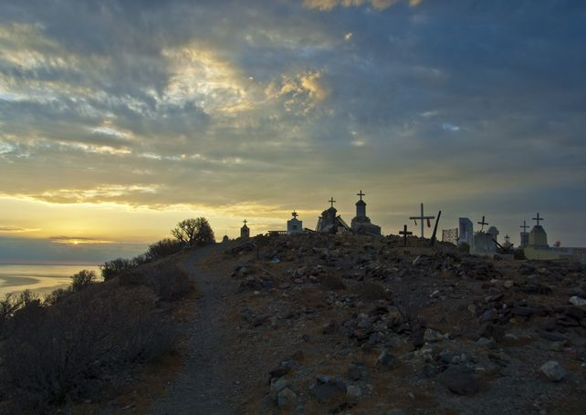 Cedros Island Mexico sunrise Baja California