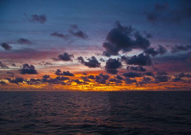 Guadalupe Island Morning Sunrise Baja Mexico