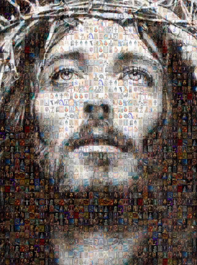 Jesus Christ Photo Collage
