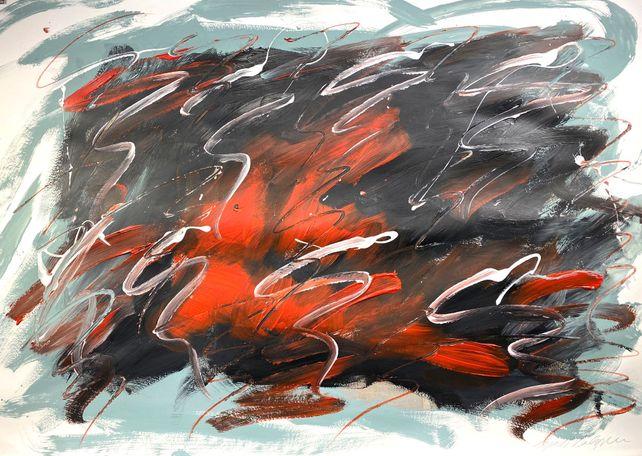 Abstract Wall Art Painting #12042020