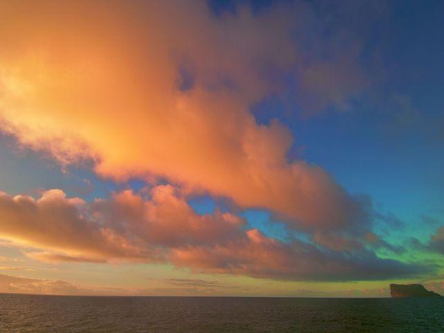 Guadalupe Island Sunrise Baja Mexico
