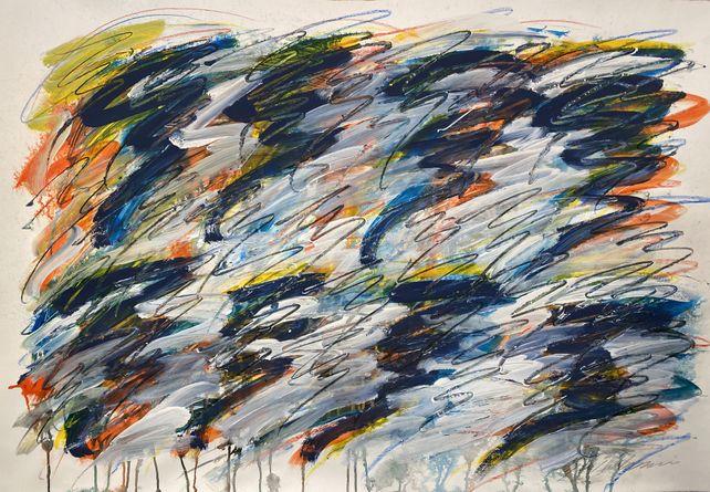 Abstract Wall Art Painting #6182021