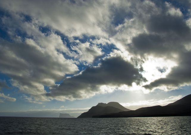 Guadalupe Island sunset Baja Mexico