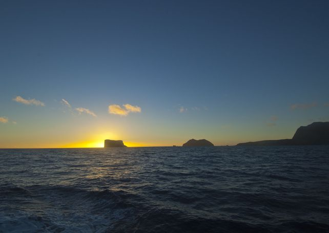 Guadalupe Island Morning Light