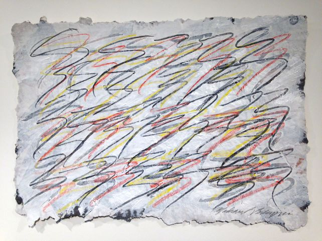 Drawing on Handmade Paper #5062020