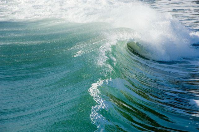 Wave Tube  BIG Art Photograph Surfing