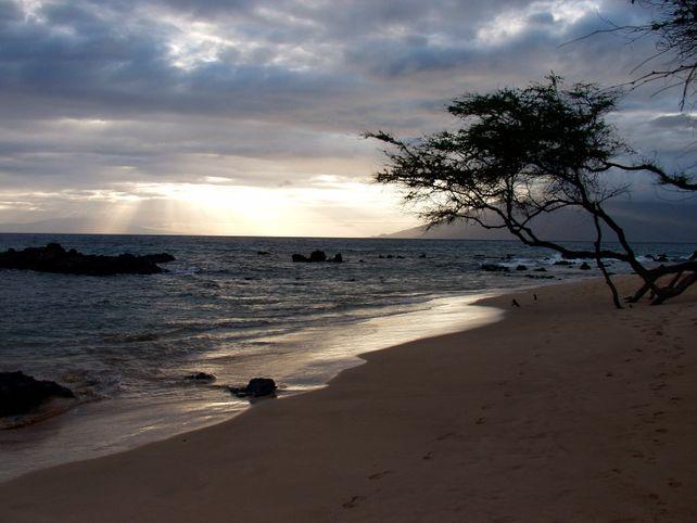 Maui Beach Sunset  Fine Art Photo Hawaii