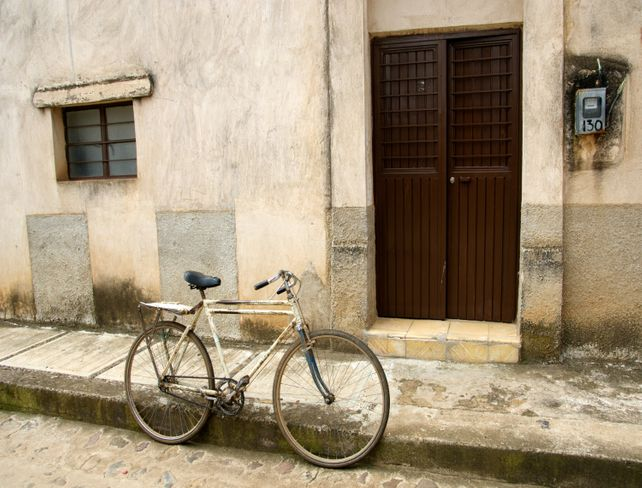 Bicycle in Mexico HUGE Art Photo by Verlangieri