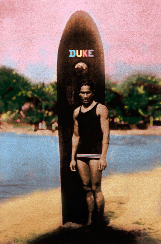 The Duke Kahanamoku  Hawaii Surfing Legend