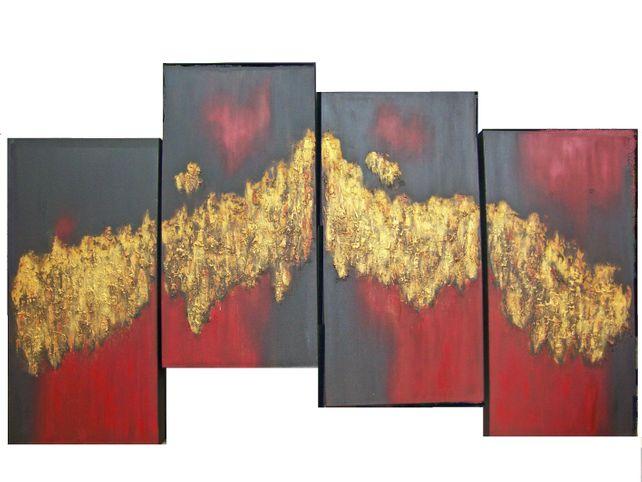 Golden Transition---Quadtych