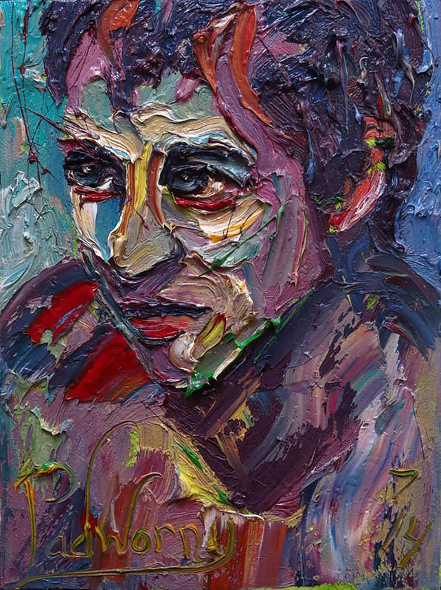 UNTITLED x981 - Original oil painting portrait nyc