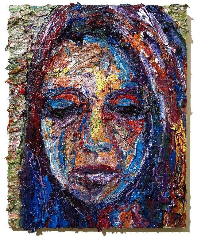 UNTITLED m1085 - Original oil painting portrait