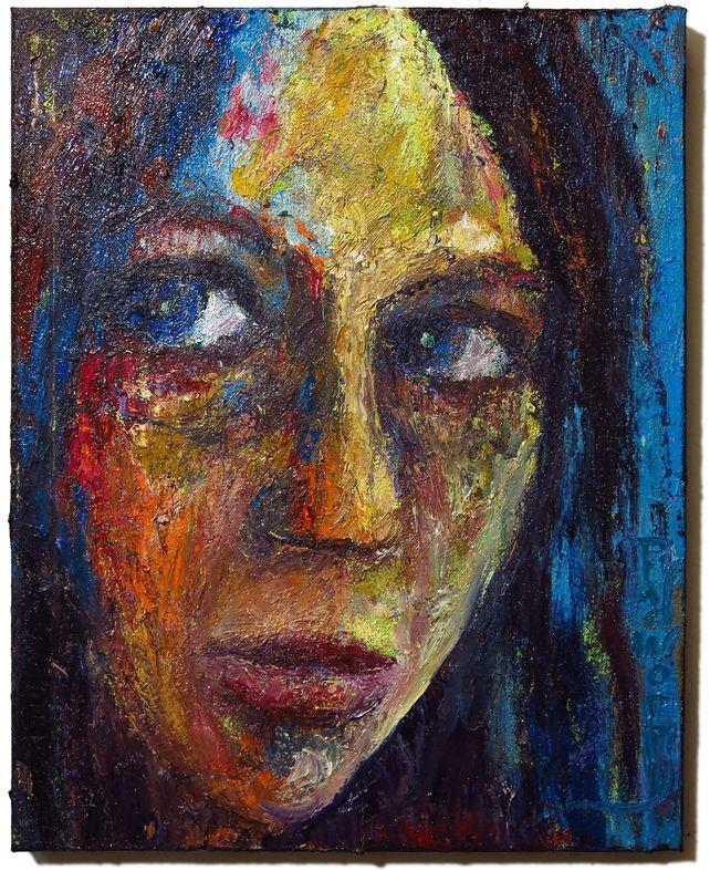 UNTITLED x1347 - Original oil painting portrait