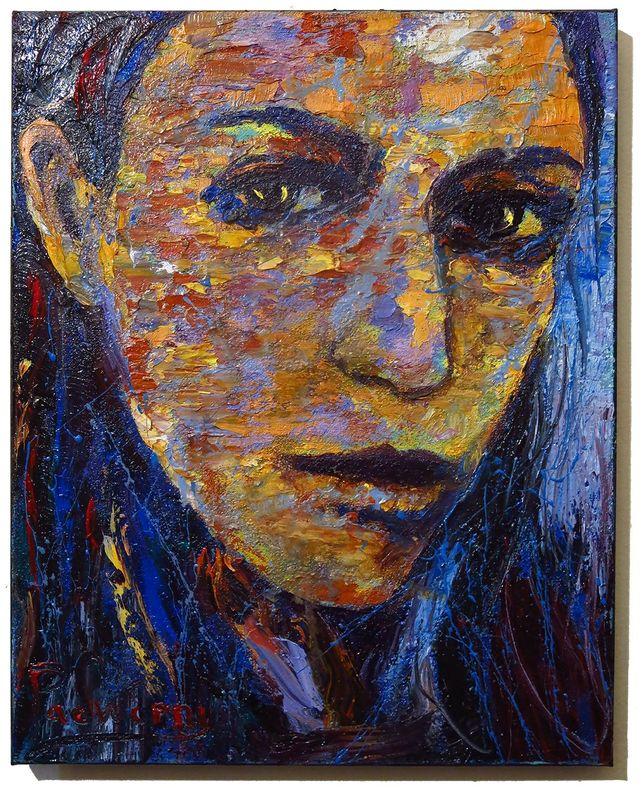 UNTITLED x1312 - Original oil painting portrait