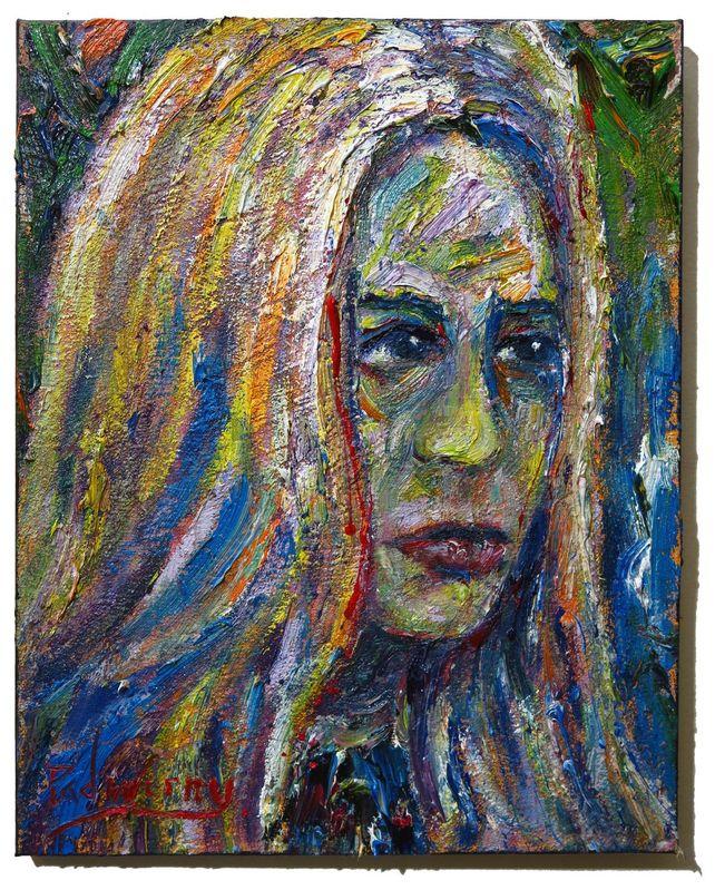 UNTITLED x1204  - Original oil painting female art