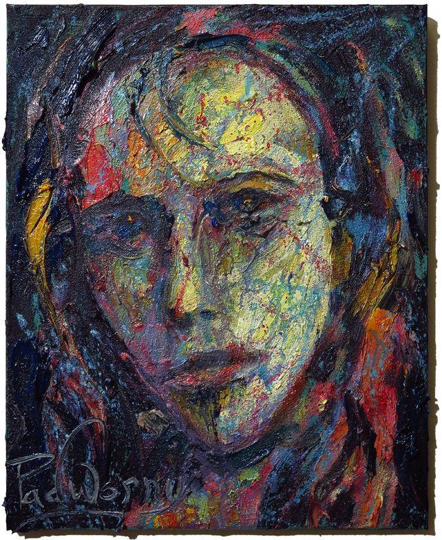 UNTITLED x1342- Original oil painting portrait