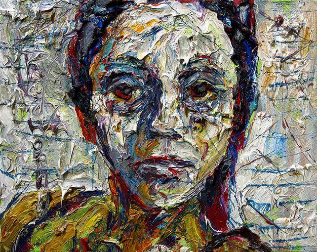 UNTITLED x1063 - Original oil painting portrait
