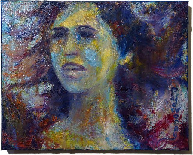 UNTITLED x1326- Original oil painting portrait