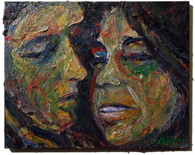 UNTITLED x260 - Original oil painting portrait art