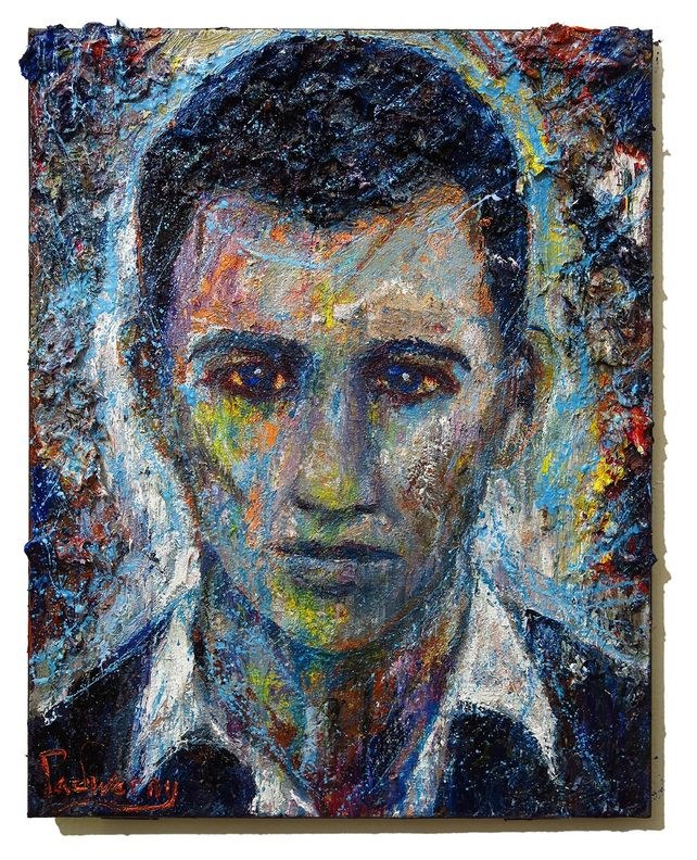 UNTITLED x1284 - Original oil painting portrait