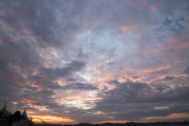 Irawaddy Sunset