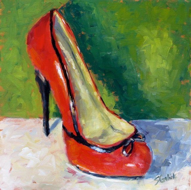 Killer Red Shoe