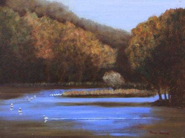 Lake Solitude en Plein Air
