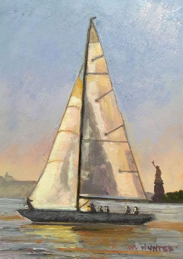 Sun Lit Sails