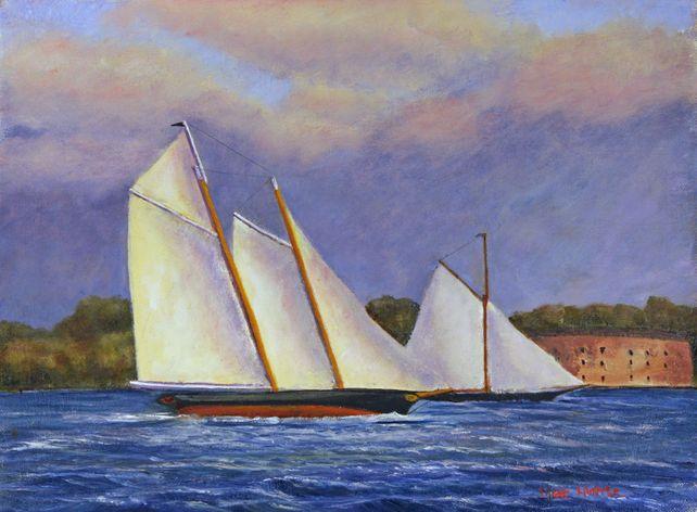 Match Race, SchoonerAmerica & Sloop Marie, 1851