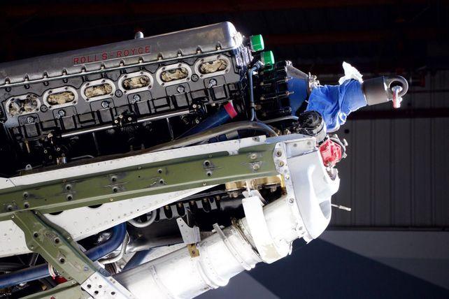 P-51 Engine