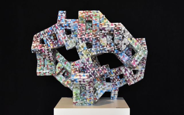 Cubic Geometry Engineered in Paper