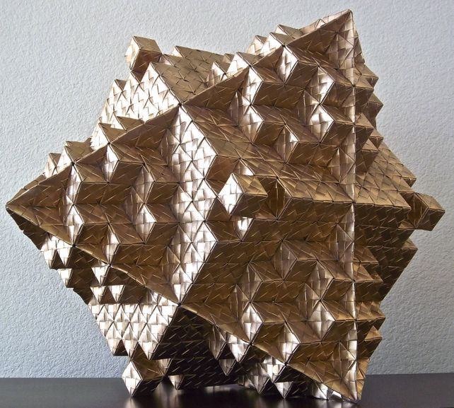 Octahedron Variation in Origami