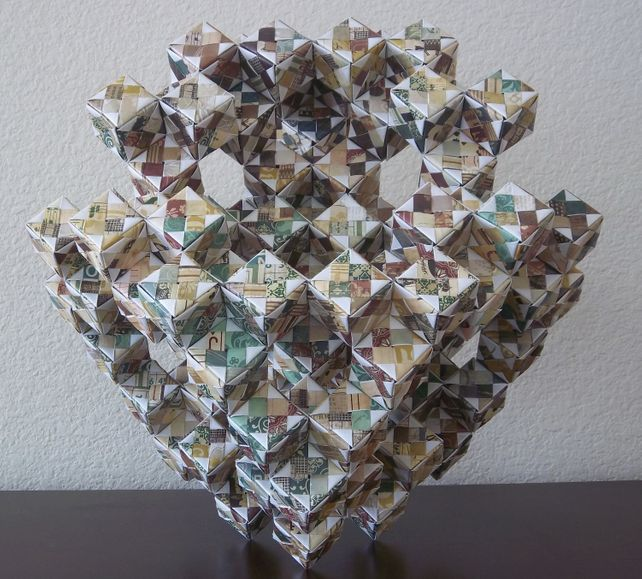 Original Origami: Abstract Cubic Form