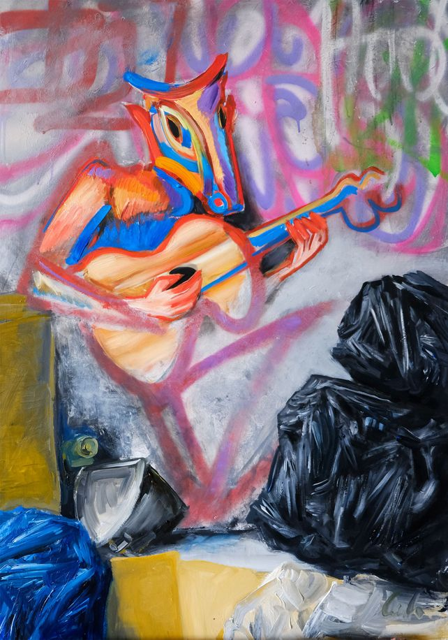 There is no home for forest ghosts ' peinture new