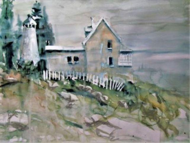 Buzzard Point Lighthouse