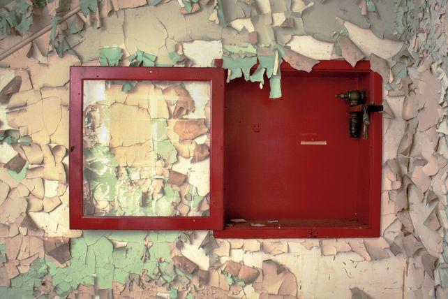 Abandoned Fire Extinguisher